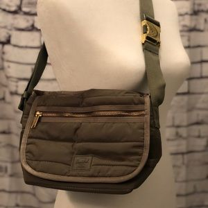 Olive Herschel and supply co bag